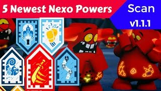 Newest LEGO NEXO Knights Powers v1.1.1 Part 12 - Scan And Enjoy