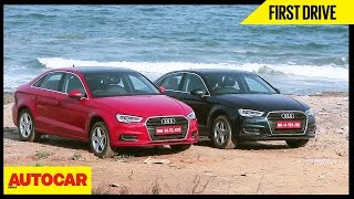 2017 Audi A3 Facelift | First Drive | Autocar India