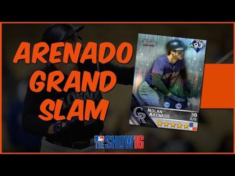 MLB 16 The Show Diamond Dynasty | Oh Mercy! Nolan Arenado Grand Slam