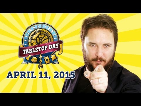 Wil Wheaton Announces International TableTop Day 2015