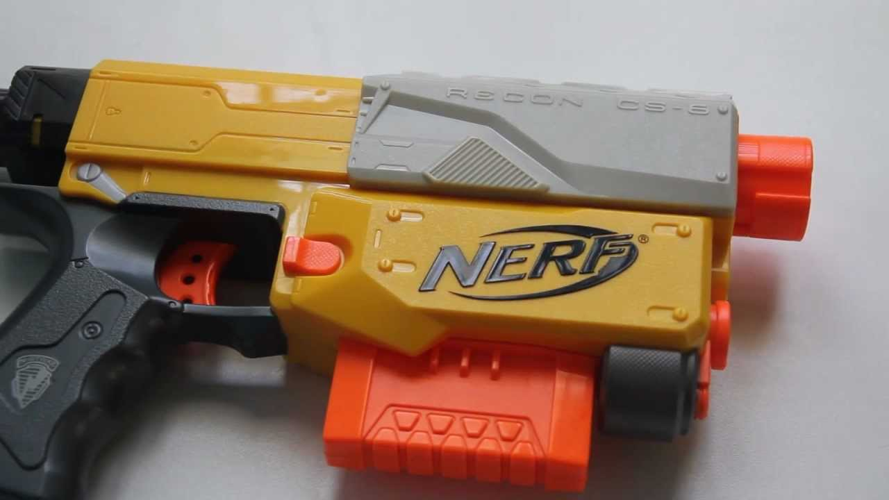 How to Make a Nerf Gun Shoot