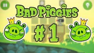 Прохождение #1 игры Bad Piggies
