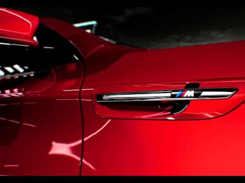 2013 BMW X6 M рестайлинг, promo-видео 2