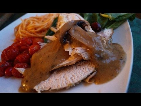 Gravy para Pavo con Champiñones♥Mushroom Gravy Recetas para Navidad♥Recetas Navideñas