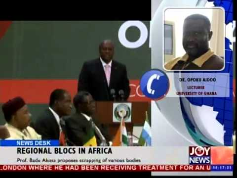 Regional Blocs in Africa - News Desk (29-10-14)