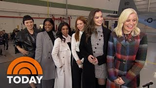 Stars Of 'Pitch Perfect 3' On Their Final Appearance & Celebrate US Troops With Al Roker | TODAY