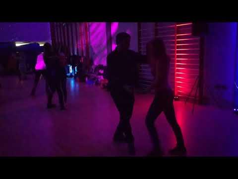 V8 UKDC DJ-KAKAH XMAS Social Dance Party ~ video by Zouk Soul