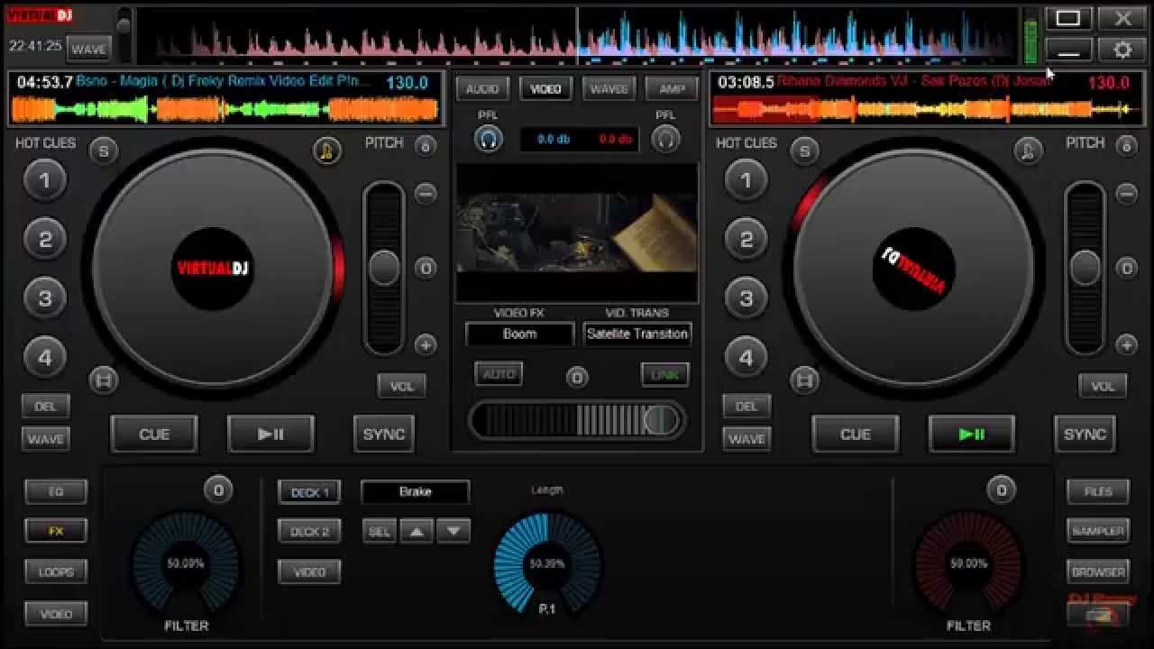 skin virtual dj 7 descargar