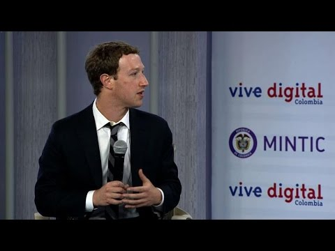 Facebook's Zuckerberg launches free internet app in Colombia