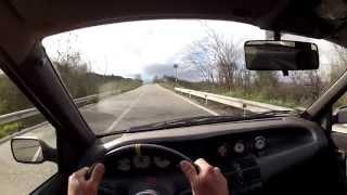 "Punto GT Turbo - ""Strada Quota Mille"" On board camera."