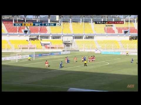 Hero I-League 2015 Sporting Goa (1) vs Bengaluru FC (3) 28-2-2015
