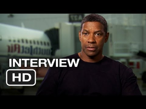Flight Interview - Denzel Washington (2012) - Robert Zemeckis Movie HD