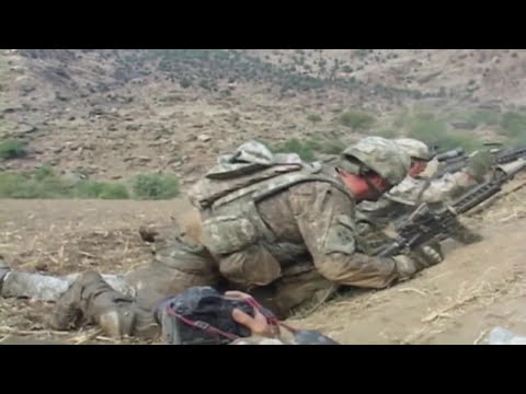 AFGHANISTAN! 4th ID Soldiers in Intense Firefight with Taliban at Qatar Kala!