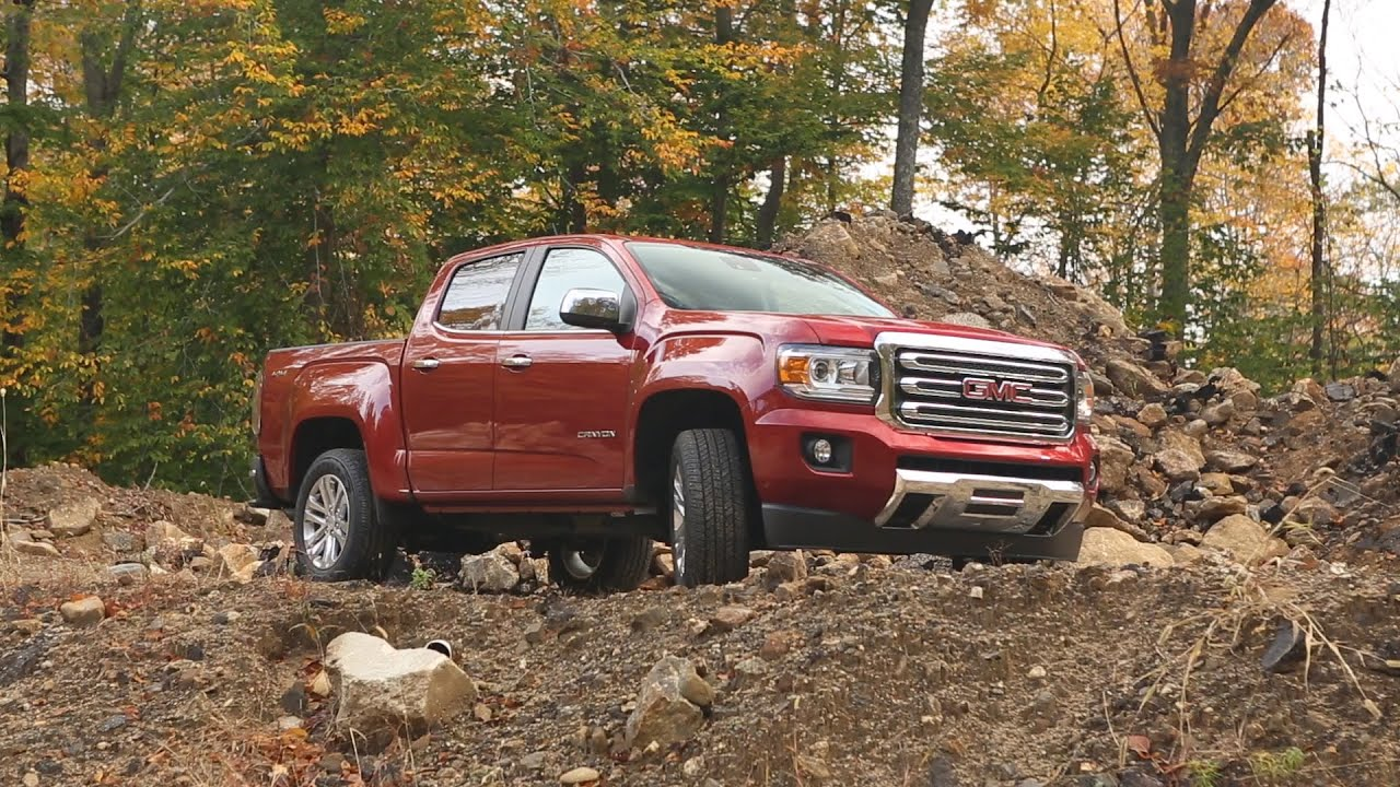 2015 GMC Canyon Review   Consumer Reports - YouTube