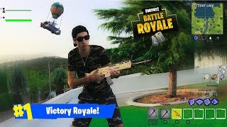 FORTNITE EN LA VIDA REAL SUPER ÉPICO