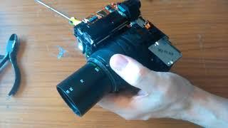 Olympus AF ZOOM 330 Camera Teardown