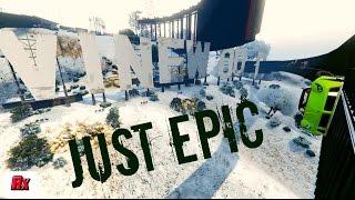 LOOK THAT BRO! FANTASTIC VINEWOOD WALLRIDE WITH SNOW!👍 GTA 5 ONLINE ALPHYX