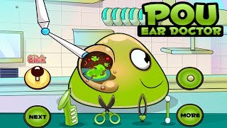 Pou Ear Doctor - Baby Care Games for Kids