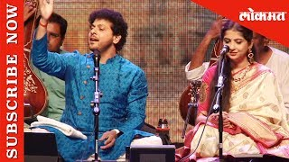 Indian classical sensations Kaushiki Chakraborty and Mahesh Kale | Sur Jyotsna Awards 2019 | Lokmat
