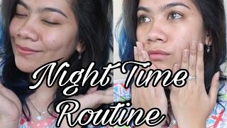 My Night Time Routine (Skincare Routine & Cara Merawat Kuku) | Jihan Putri