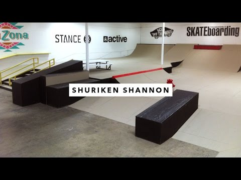 Afternoon in the Park: Shuriken Shannon