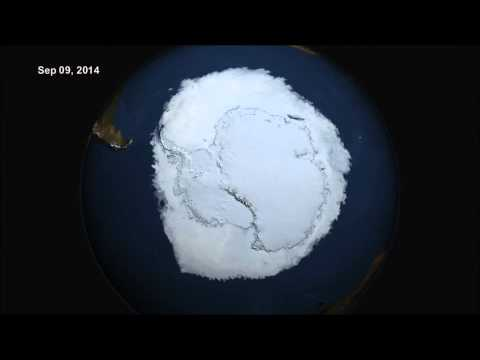 10/10/2014 -- Record Levels of Ice at the South Pole / Antarctica