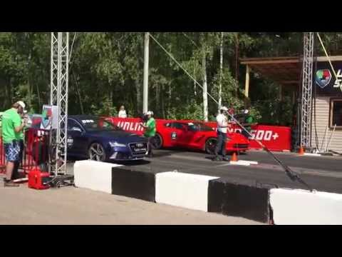 Unlim 500+ Chevrolet Corvett Stingray vs Audi RS7