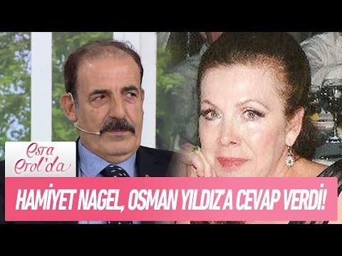 Hamiyet Nagel, Osman Yıldız'a cevap verdi! - Esra Erol'da 16 Ocak 2018