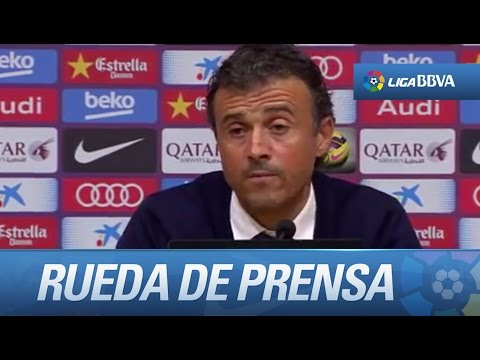 Rueda de prensa de Luis Enrique tras el FC Barcelona (0-1) Celta de Vigo - HD