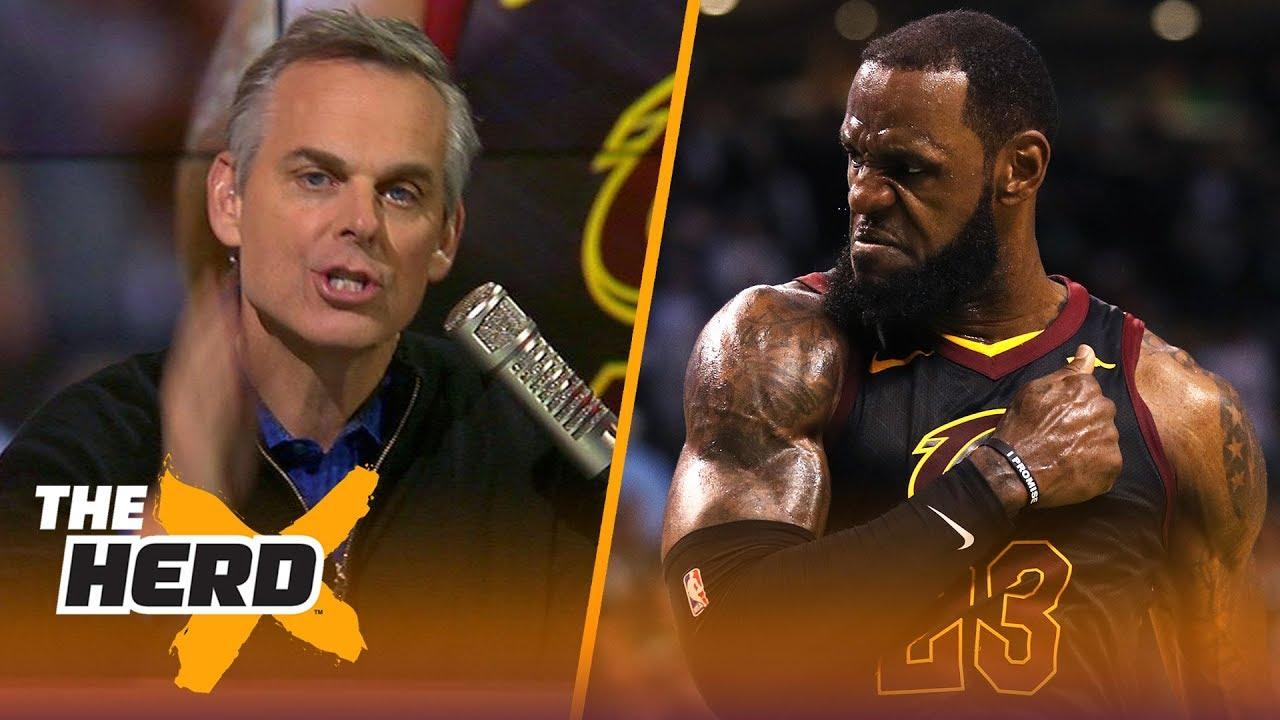 Colin Cowherd on LeBron's epic Game 7 win over Boston, Talks Durant's pressure | NBA | THE HERD