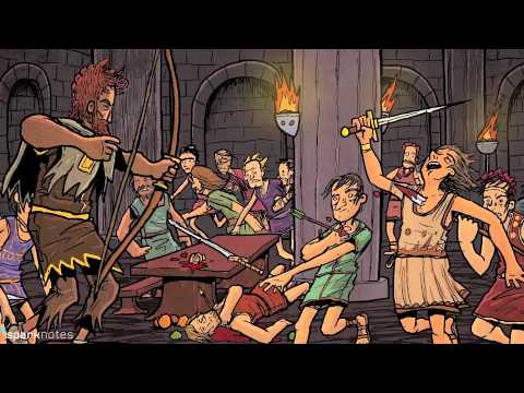 an analysis of the stories from the odyssey Detailed analysis of characters in homer's the odyssey learn all about how the characters in the odyssey such as odysseus and telemachus contribute to the story and how they fit into the plot.