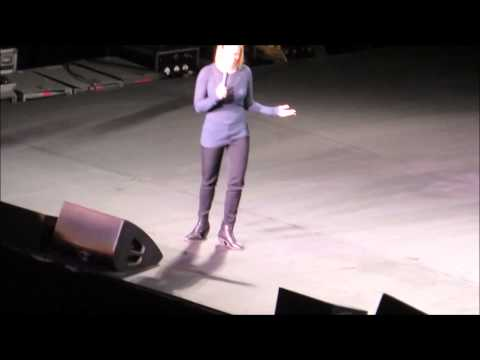 Chelsea Handler's opening Joke in Cleveland on 3/06/2014
