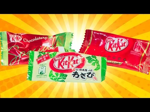 Let's Eat 6 of the Craziest Kit Kat Flavors Ever