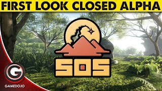 SOS CLOSED ALPHA GAMEPLAY BY OUTPOST GAMES 🔴 Brand New Multiplayer Survival!