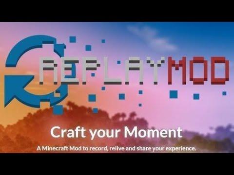 [Minecraft] Обзор на Replay Mod (панорамное видео в майне!)