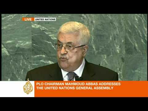 Mahmoud Abbas' speech at the UN [part 1/3]