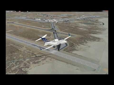 FSX SE Photoreal Mission Corkscrew-Edwards AFB 1080p