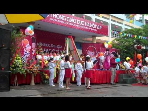 Khai giảng năm học 2011-2012 Trường VIP Hà nội (Video 4)