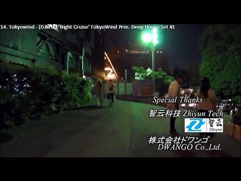 【Broadcasting】 Tokyo Evening Night City Lights Putter Cycling 04 【GITUP Git2 + ZHIYUN Z1 Pround】