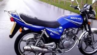 2008 SANYA SY125 125 EN125 SUZUKI REP VVGC TAX & MOT !