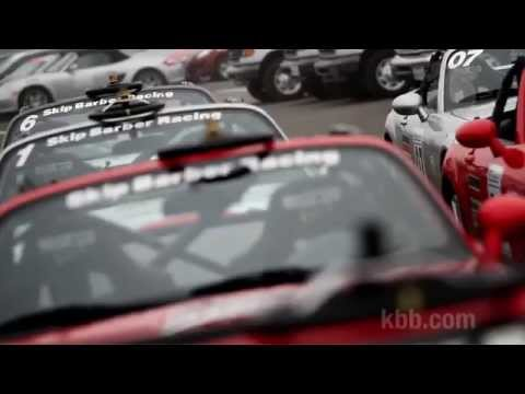 KBB Races a Mazda Miata - Part 1: Skip Barber Race School