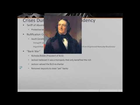 APUSH Review: The Presidency of Andrew Jackson