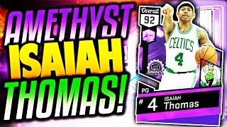 AMETHYST ISAIAH THOMAS! INSANE SHOOTER! NBA 2K17 MyTEAM PACK OPENING!