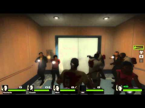 Left 4 Dead 2 Realism: Dead Centre - The Hotel Including All 8 Survivors Music Videos