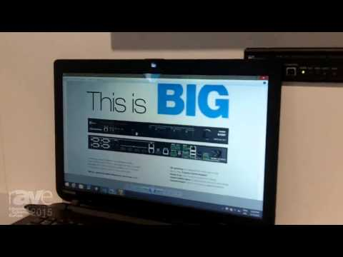 ISE 2015: Crestron Shows Huddle Space Solution Featuring DMPS3-4K-150-C Presentation System