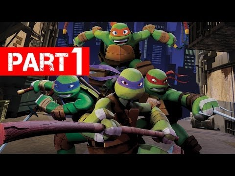 Teenage Mutant Ninja Turtles Gameplay Walkthrough Part 1 - Let s Play Xbox 360