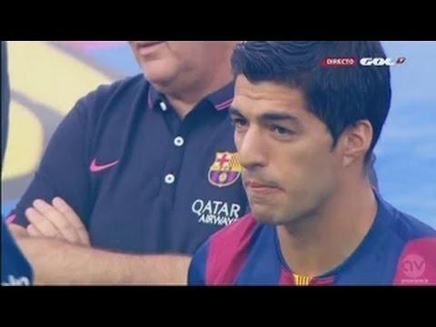 Luis Suárez presentation as FC Barcelona Player [Debut] ,,18/08/2014