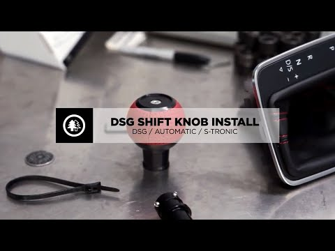 How to Install BFI - Black Forest Industries DSG / Automatic Shift Knob Installation.