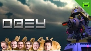 Obey # 01 - Hasenpower! «» Let's Play Obey | 60HD