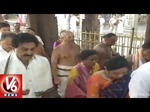 Salakatla Anivara Asthanam Held In Tirumala Tirupati | TTD Annual Income Counting | V6 News